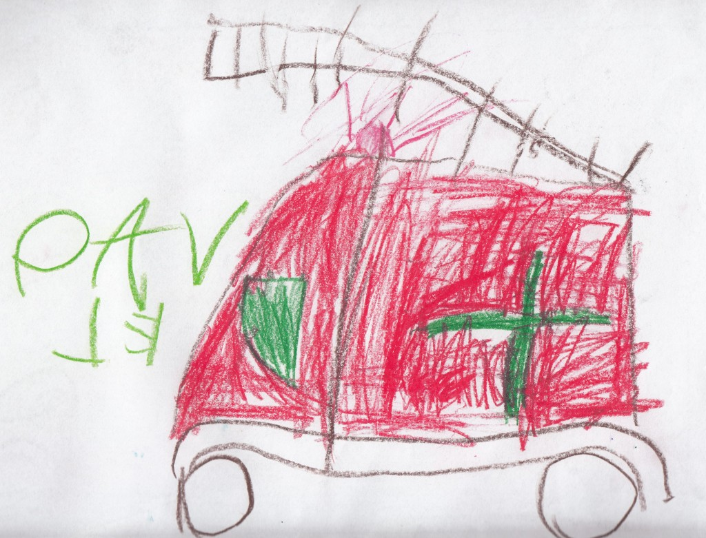 Alarma la pompieri! (Pavel Georgescu, aproape 6 ani)